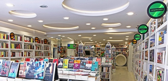 Señalética librería