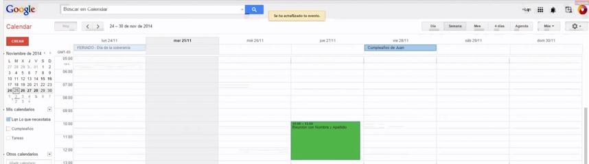 [Videotutorial] Cómo utilizar Google Calendar
