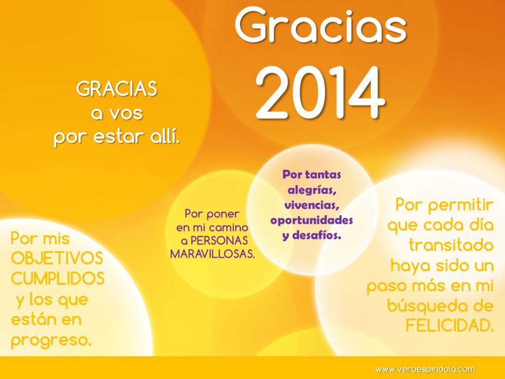 Gracias 2014