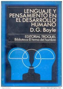 Lenguaje, pensamiento y desarrollo humano