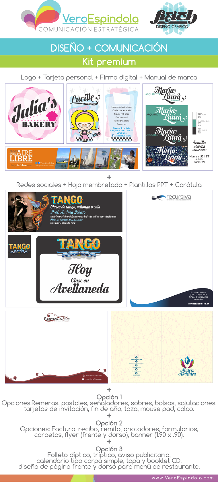 Kit diseño + comunicación