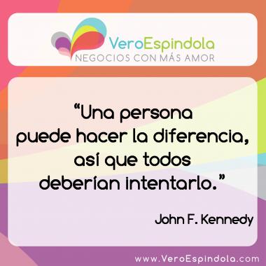 ¿Sos la diferencia?