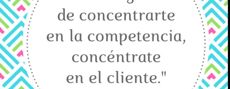 2017 03 07 Competencia o cliente, Vero Espindola