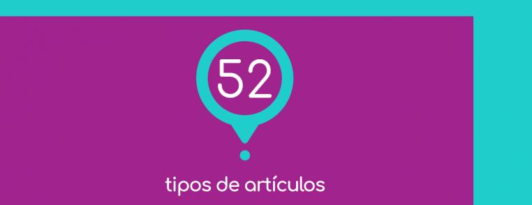 Vero Espindola - 52 tipos de artículos