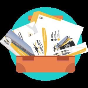 Kit de diseño y comunicación - Vero Espindola